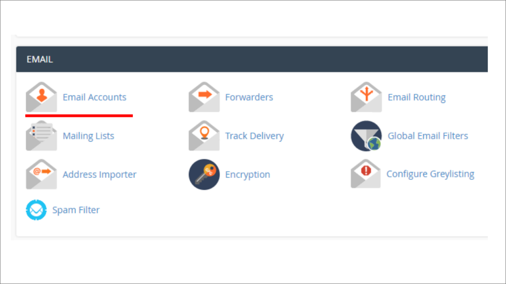how to create an email in cpanel